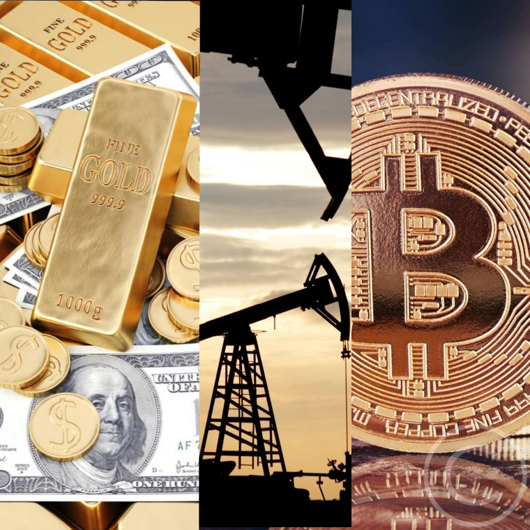 Bitcoin, Oil, and Gold: What Is the Difference?